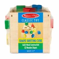 Melissa & Doug® Shape Sorting Cube