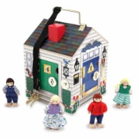 Melissa & Doug® Wooden Doorbell House