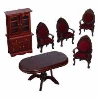 Melissa And Doug Doll House Furniture Dining Room Set - 1 Unit