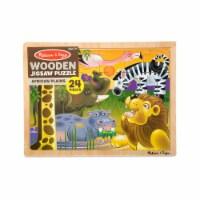 Melissa & Doug® African Plains Wooden Jigsaw Puzzle - 24 pc