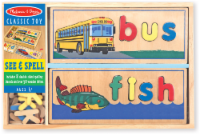 Melissa and Doug® See & Spell Learning Toy