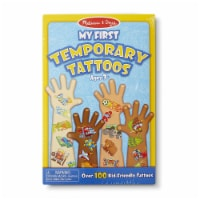 Melissa & Doug® My First Temporary Tattoos - Blue - 1 ct