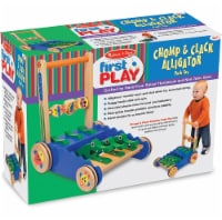 Melissa and Doug® Chomp and Clack Alligator Push Toy - 1 ct