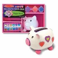 Melissa & Doug® Decorate Your Own Piggy Bank Craft Set