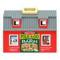Melissa and Doug® Fold and Go Wooden Barn