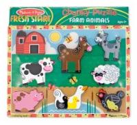 Melissa & Doug® Fresh Start Farm Animals Chunky Puzzle - 1 ct