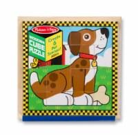 Melissa & Doug® Farm Wooden Cube Puzzle
