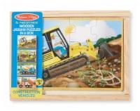 Melissa & Doug® Construction Puzzles in a Box - 4 pk / 12 pc