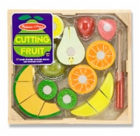 Melissa & Doug® Wooden Cutting Fruit Set - 17 pc