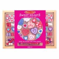 Melissa And Doug Sweet Hearts Wooden Bead Set