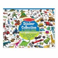 Melissa & Doug® Blue Sticker Collection - 1 ct