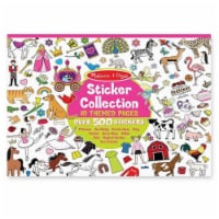 Melissa And Doug Pink Sticker Collection - 1 ct