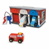 Melissa And Doug Keys And Cars Rescue Garage Play Set - 1 Unit