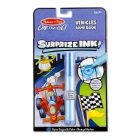 Melissa And Doug On The Go Surprize Ink Vehicles Game Book