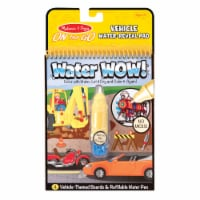 Melissa & Doug® Water Wow! Vehicle Water-Reveal Coloring Pad - 1 ct