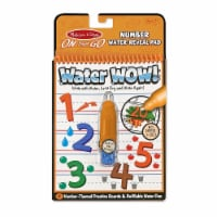 Melissa & Doug® Water Wow! Number-Reveal Coloring Pad