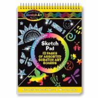Melissa And Doug Scratch Art Sketch Pad Set - 1 Unit