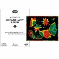 Melissa & Doug Scratch Art Paper Multicolor - 50 Sheets - 1