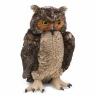 Melissa And Doug Large Owl Plush Figure