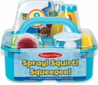 Melissa and Doug® Let's Play House! Spray Squirt and Squeegee Play Set