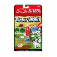 Melissa and Doug® Water Wow! On the Farm Water-Reveal Pad