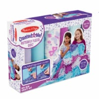 Melissa & Doug® Created by Me Butterfly Fleece Quilt Kit