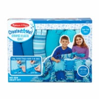 Melissa & Doug® Created by Me Striped Fleece Quilt