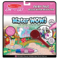 Melissa And Doug Water Wow Fairy Tale Reusable Reveal Pad 30173 - 1 Unit
