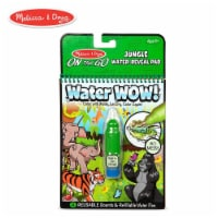 Melissa And Doug Water Wow On The Go Jungle Pad - 1 Unit