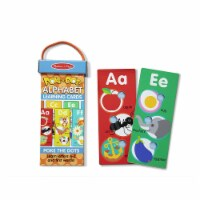 Melissa And Doug Poke-A-Dot Jumbo Alphabet Learning Cards 31470 - 1 Unit