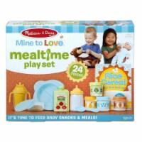Melissa & Doug LCI31708 Mine To Love Mealtime Play Set