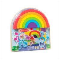 Melissa & Doug Blues Clues Rainbow Puzzle - 1 ct