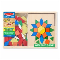 Melissa and Doug® Pattern Blocks and Boards Set - 1 ct