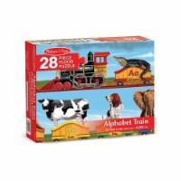 Melissa & Doug® Wooden Alphabet Train Floor Puzzle - 28 pc