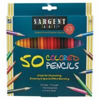 Sargent Art Inc. SAR227251 Sa Colored Pencils 50 Color Set