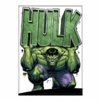 Ata-Boy Marvel Hulk Holding Name Magnet