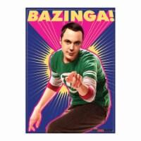 Ata-Boy The Big Bang Theory Bazinga Sheldon Magnet