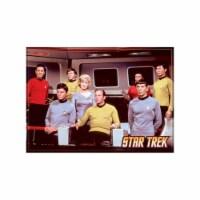 Ata-Boy Star Trek Cast On Bridge Magnet