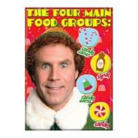 Ata-Boy Elf Four Main Food Groups Magnet