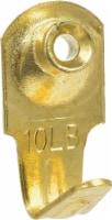 Hillman 10 Pound Classic Hanger - Brass Plated - 1 ct