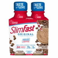 SlimFast Original Cappuccino Delight Ready To Drink Meal Replacement Shakes