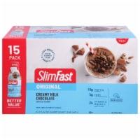 SlimFast Original Creamy Milk Chocolate Meal Replacement Shakes