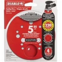 """Diablo 4pk 5"""" 220g Sanding Disc DCD050220H04G"""