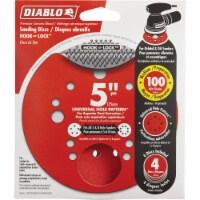 """Diablo 4pk 5"""" 100g Sanding Disc DCD050100H04G"""