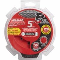 """Diablo 50pk 5""""120g Sanding Disc DCD050120H50G"""