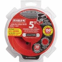 """Diablo 50pk 5""""150g Sanding Disc DCD050150H50G"""