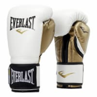 Everlast P00000722 Women's 12 Ounce Powerlock Hook & Loop Training Gloves, White - 1 Unit