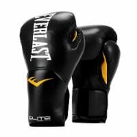 Everlast Pro Style Elite Workout Training Boxing Gloves Size 14 Ounces, Black
