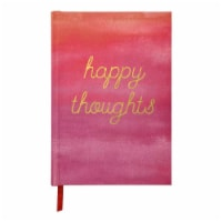 C.R. Gibson Medium Printed Bound Journal - Happy Thoughts