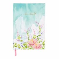 C.R. Gibson Medium Printed Bound Journal - Floral Be Still